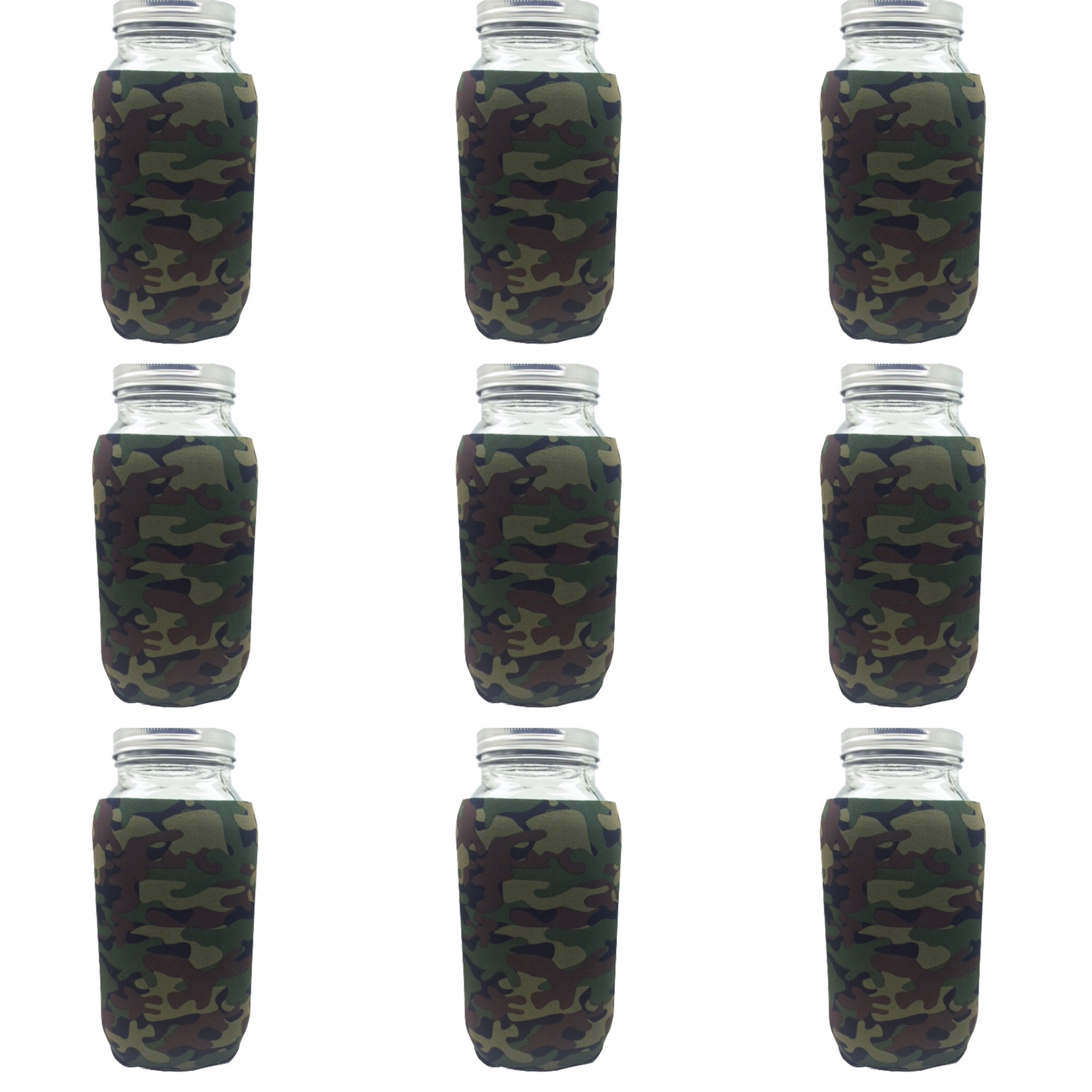 9 64oz basic camo Jar-Z's